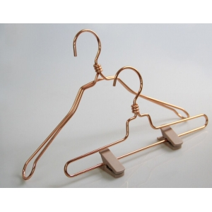 Beautiful China hanger supplier metal coat clothes hanger[MTH--002]