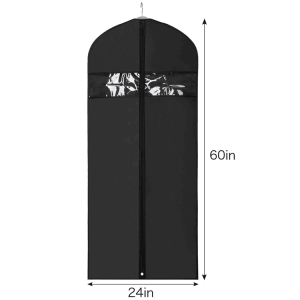 Luxury customized design China hanger supplier garment bags for suit and wedding dresses[ASD 101]