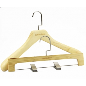 MBW-004 Luxury wooden pants hanger bottom hanger
