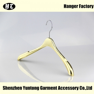 MTE-001 custom electroplated hanger shiny electric hanger supplier