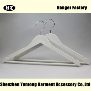 SPS-001 low price high quality solid plastic suits hanger for men