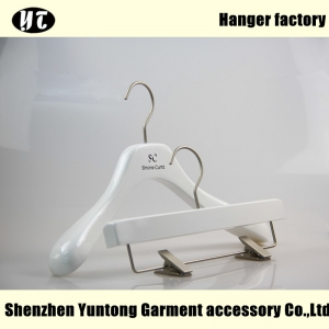 WSW-020 white womens wooden hangers wholesale wooden hangers