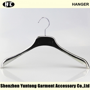 WTE-010 silver electronic plating slim hangers for man for woman