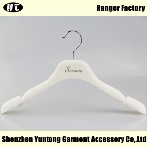 WTV-001 white velvet dress hanger wedding dress hanger