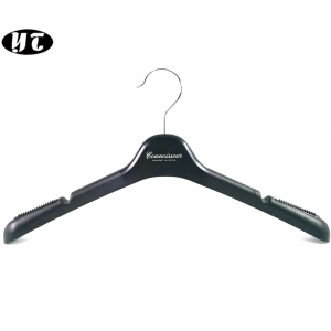 Wholesales China hanger supplier common plastic shirt and coat clothes  hanger [PTW 23]