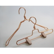 China Beautiful China hanger supplier metal coat clothes hanger[MTH--002] factory