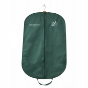 Fabbrica della Cina Green customized design suits garment and cover bags with logo