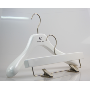 China High end China hanger supplier white woman clothes hanger [WTN 059] factory