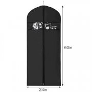 China Luxury customized design China hanger supplier garment bags for suit and wedding dresses[ASD 101] factory