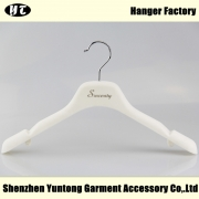 China WTV-001 white velvet dress hanger wedding dress hanger factory